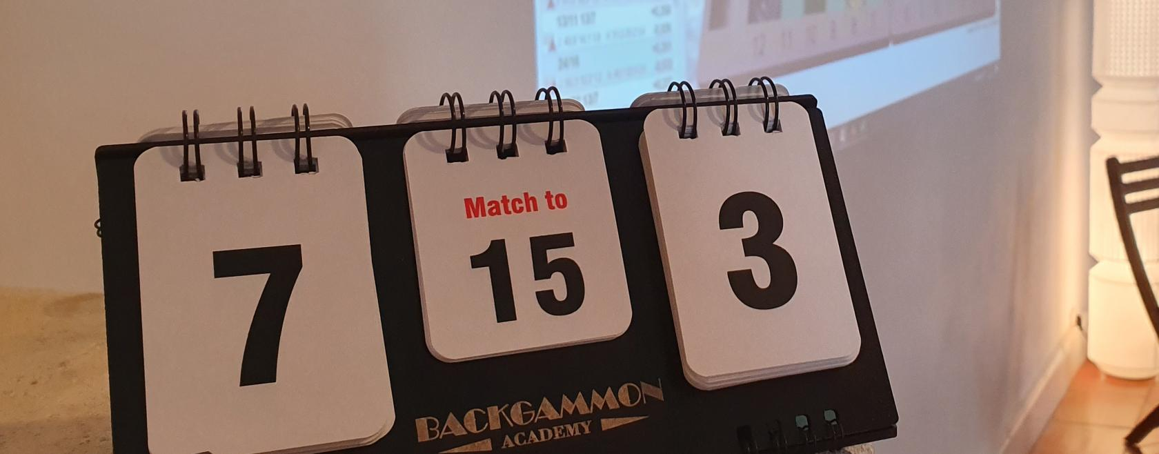 Cours de Backgammon & Coaching