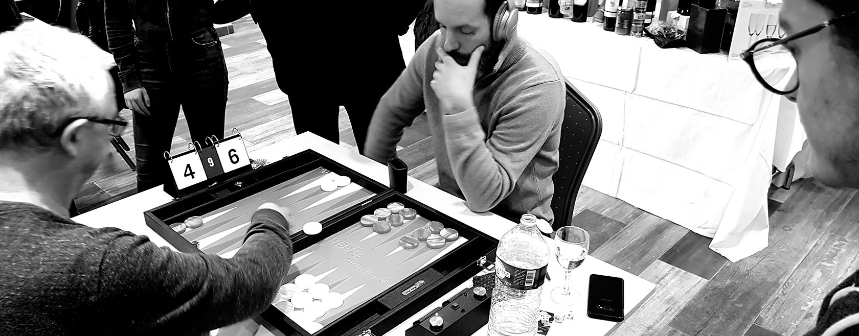 Cours de Backgammon & Coaching